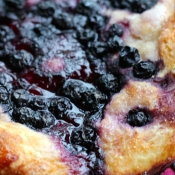 Blueberry Focaccia with Lemon Sparkle Sugar