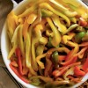 Flash-Freezing Splendid Bell Pepper Bounty: simplest way of all!