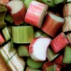 The Spring Miracle of Rhubarb, and Rhubarb-Walnut Muffin recipe . . .