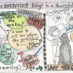 Sketchbook Share:  An Introvert in a Family Full of Extroverts