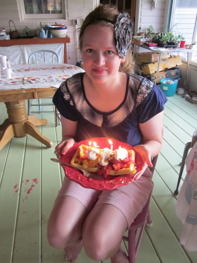 Here's my beautiful daughter Bethany on her birthday.