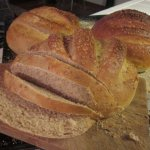 Broiled Flaxseed Country Bread: my favorite bread recipe!