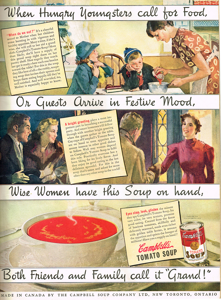 Vintage ad used by permission by