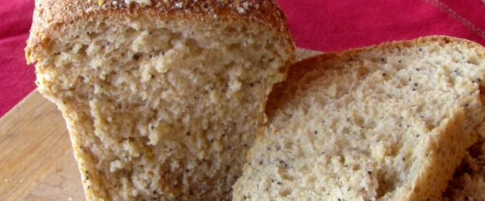 Make your own Chewy, Crunchy 9-grain Bread