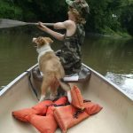 Canoeing the Big Blue, by the numbers, with Mack and Scout