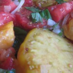 Marinated heirloom tomatoes to make your heart melt