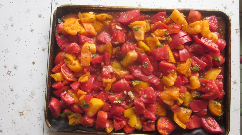 roasted tomato sauce recipe