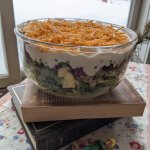 Layered Green Vintage Salad for Winners!