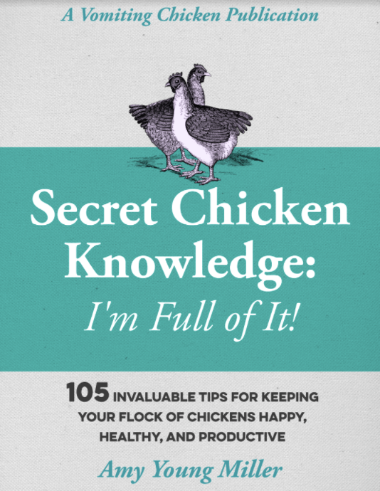 screen shot of cover of Secret Chicken Knowledge!