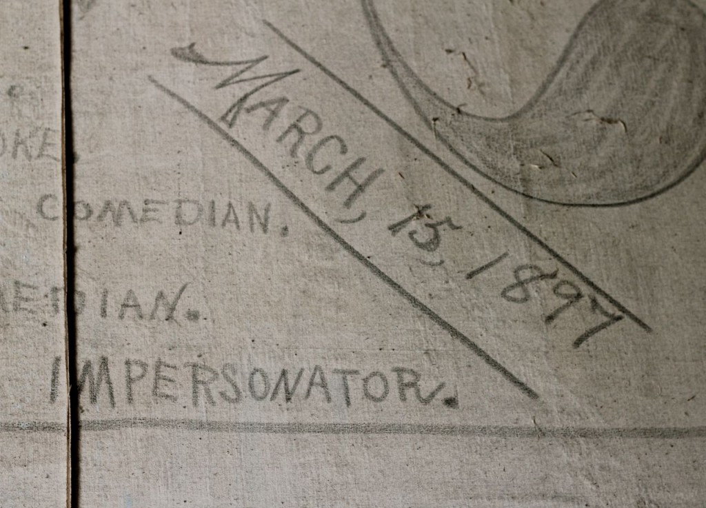 """March 15, 1897"": this was the oldest date I saw."
