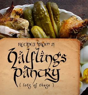 Here it is: our Halfling's Pantry ebook!
