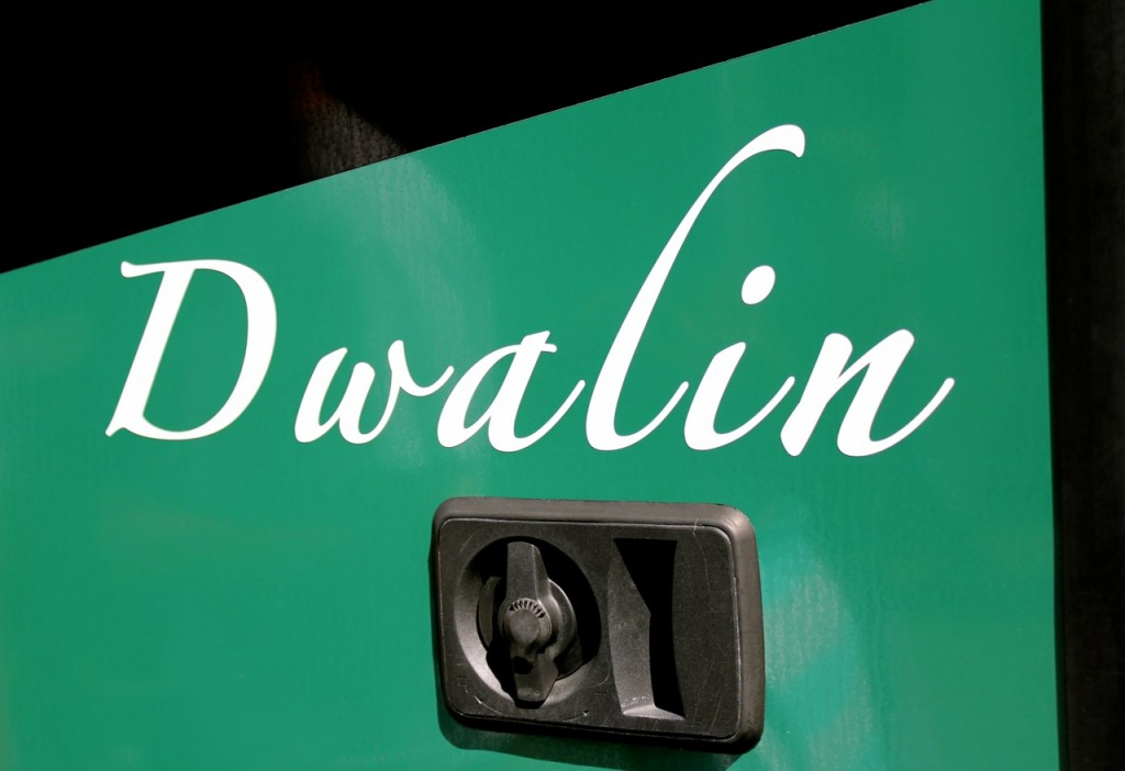 Each tour bus has a name. :) Ours was Dwalin. Nearly 1,000 people visit this site every day, making it New Zealand's most popular tourist site.