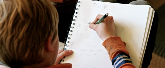 Sketchbook Thursday: Unlock your creativity by sketching with your child