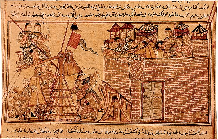 I think a picture of a Mongol catapult is appropriate to share at this juncture.