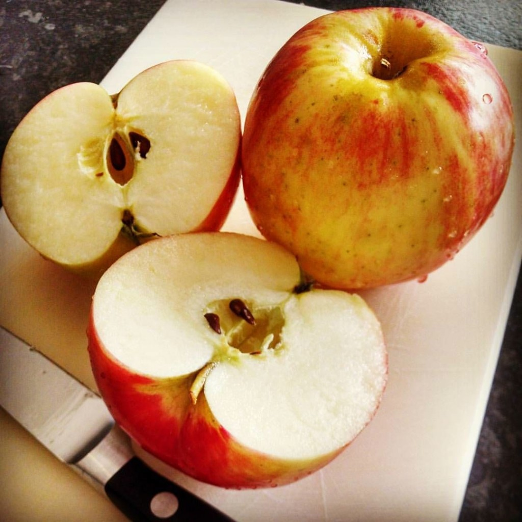 These apples that I've been buying here---the variety is SweeTango--are by far the tastiest apples I've eaten in a long time.