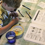 Two Things: Guest Post on homeschooling & DIY Paper Dungeon Kickstarter