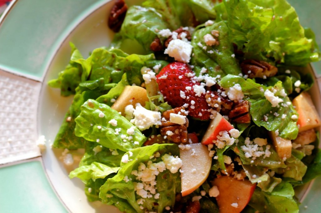 honey dressing salad