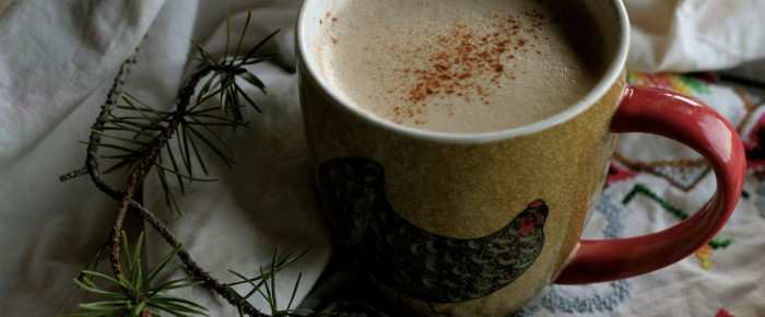 Spicy pumpkin pie coconut coffee!