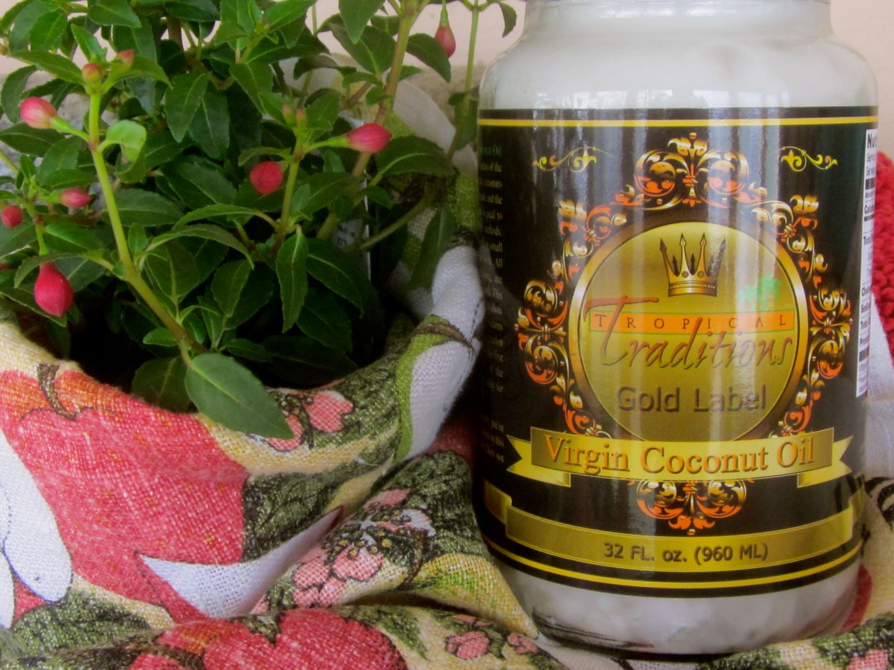 Tropical Traditions Virgin Coconut Oil–the Good Stuff!–GIVEAWAY!