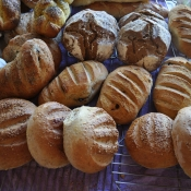 Increase the happiness in your home today: bake bread!