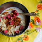 4 Whole Grain Breakfast Bowls--Quick, Easy and Delish!