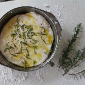 Rosemary & Sea Salt Focaccia bread: good enough to stand in line for