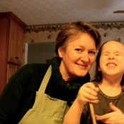 Easy-peasy Stir-'n'-Pour Bread made by Princess Anee and me