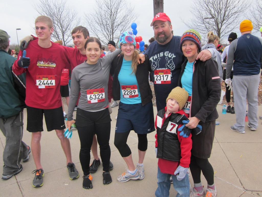 My kids, some of their friends, my brother Mark and I ran the Living History Farm Cross-Country Race in Iowa last year.  It was one of the most fun things I've ever done, and it kept me running for months during the fall and winter, to prepare for it.