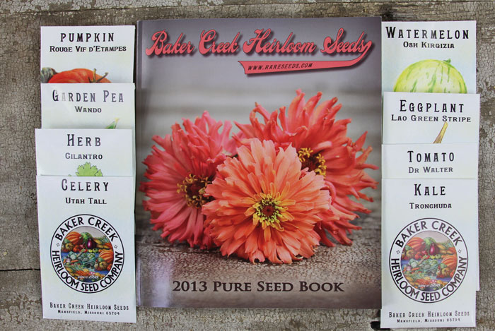 This catalog is just beautiful and so much fun to read!  (Image from http://rareseeds.com/requestcatalog