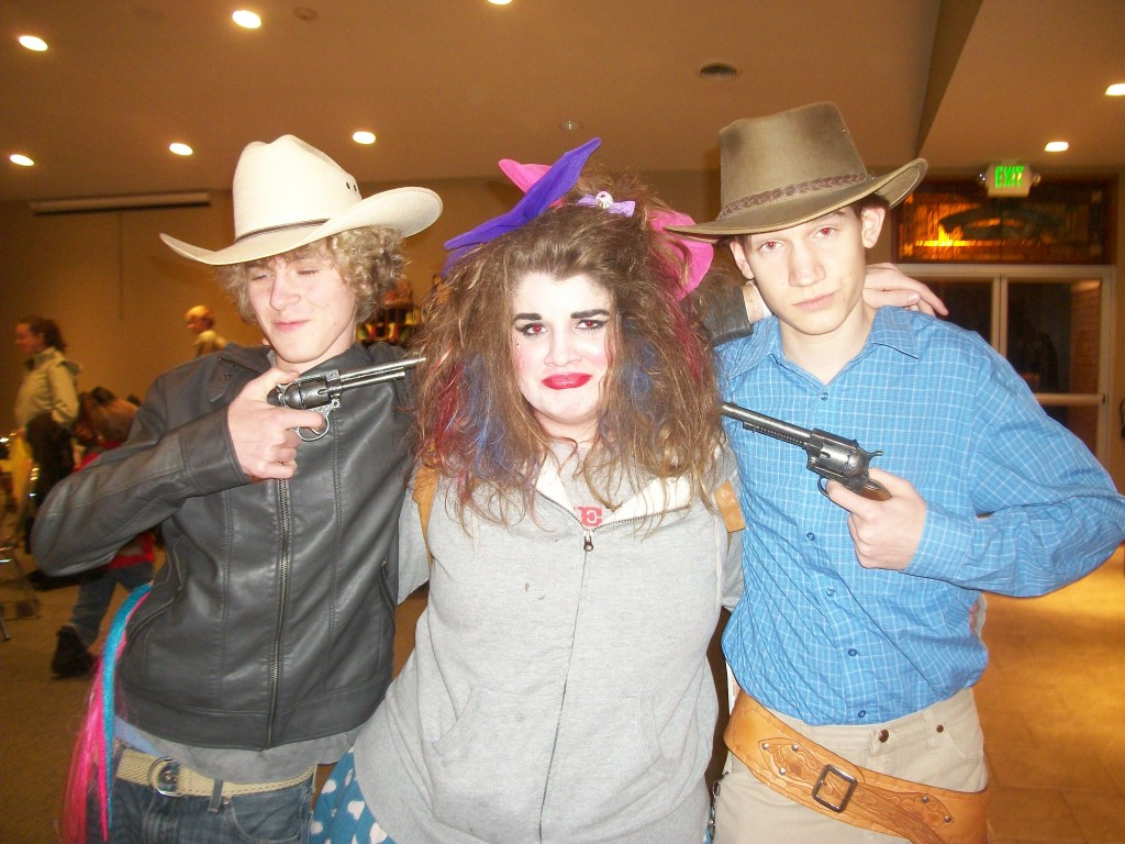 Josh and Adam arrest Delainey for having Bad Hair.