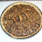 Two-Mushroom Tart from the Kitchen of Chef William