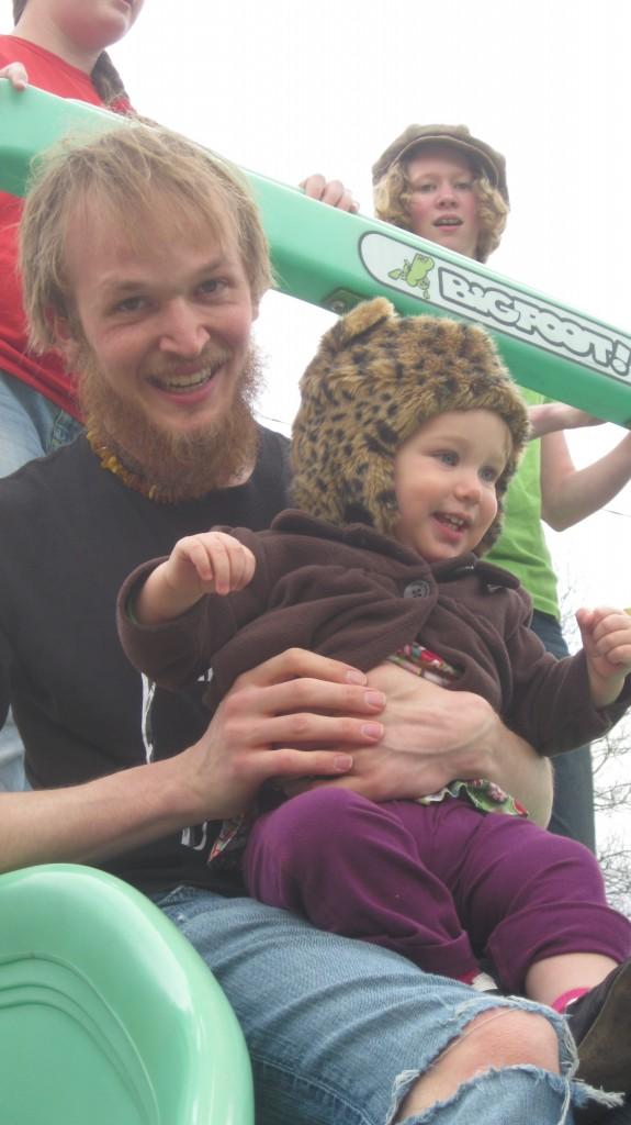Anya and her papa