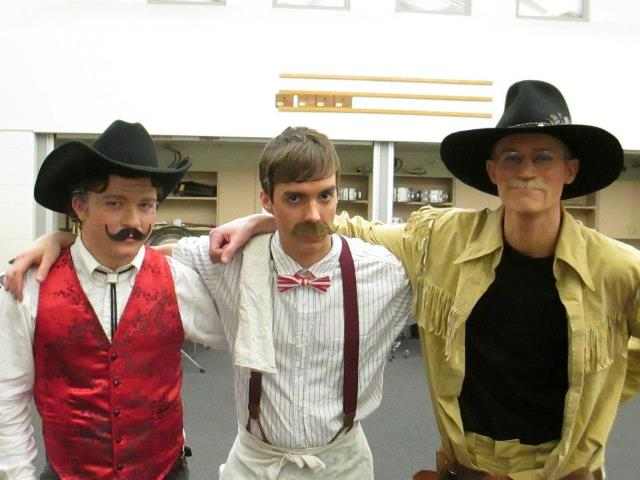 Theatre participation forges lifelong friendships, even among cowboys.