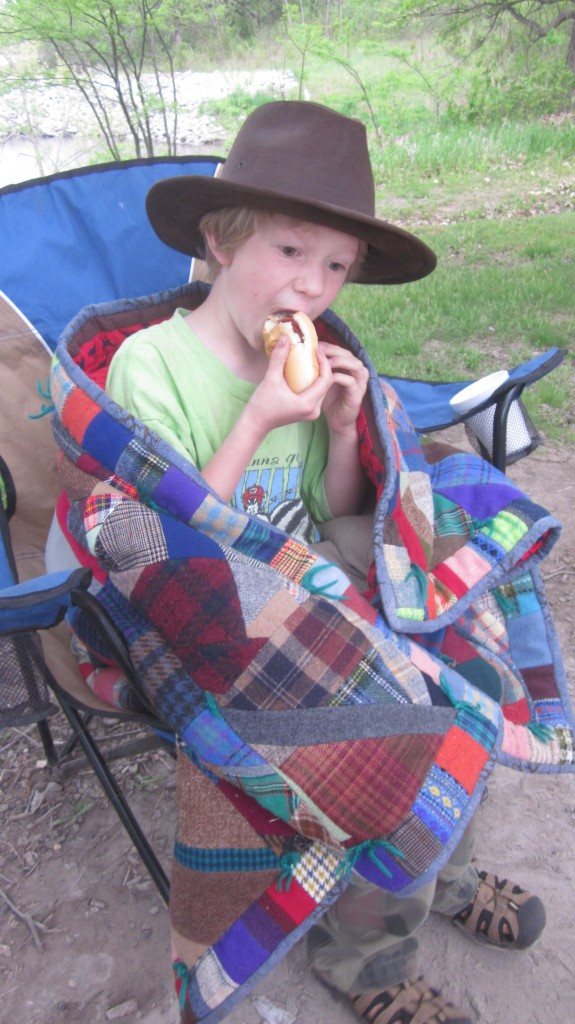 happy birthday camping trip