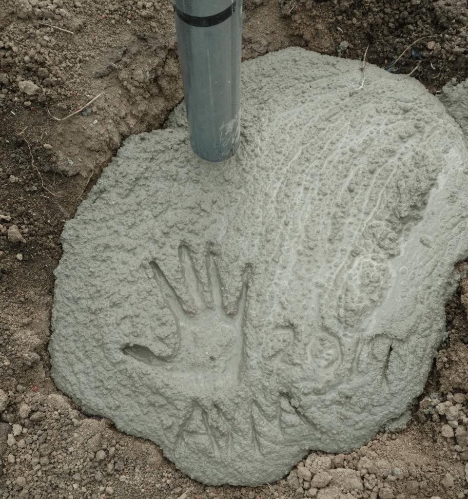 I'm a footprint-maker