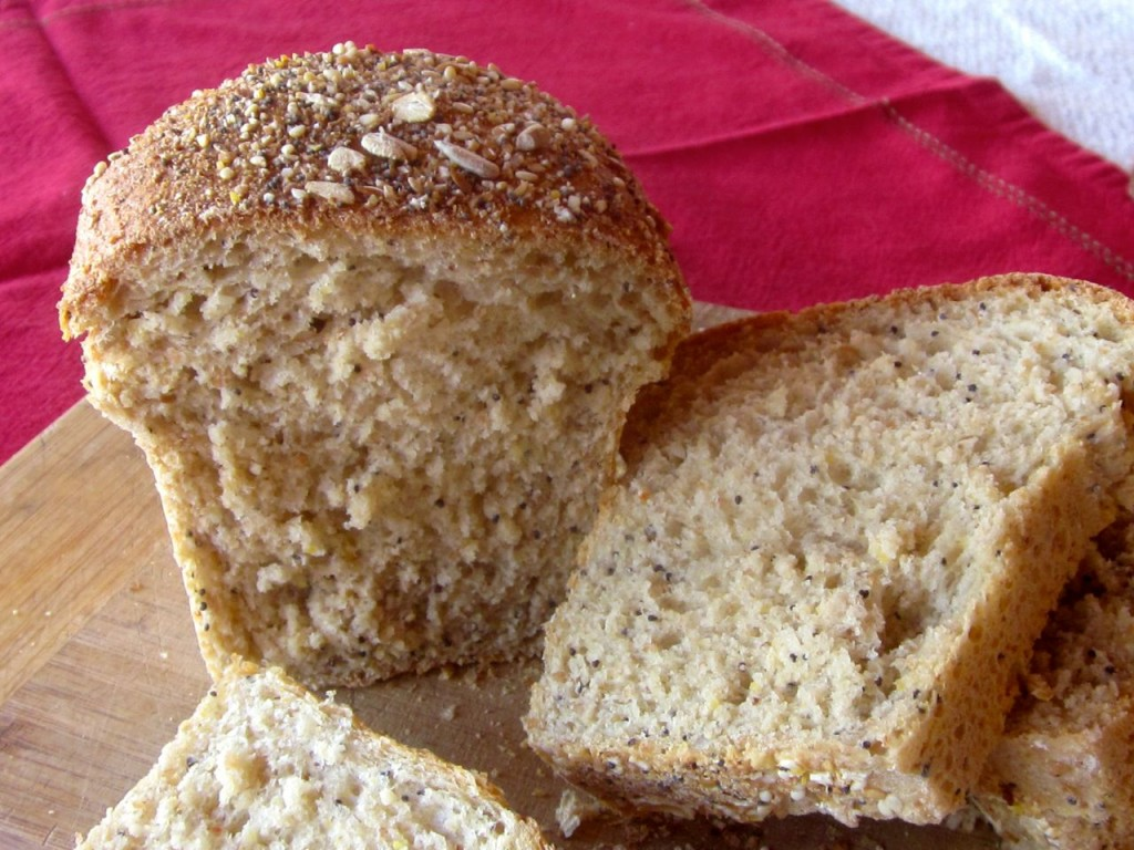 Here's a close-up. See that marvelous crumb?