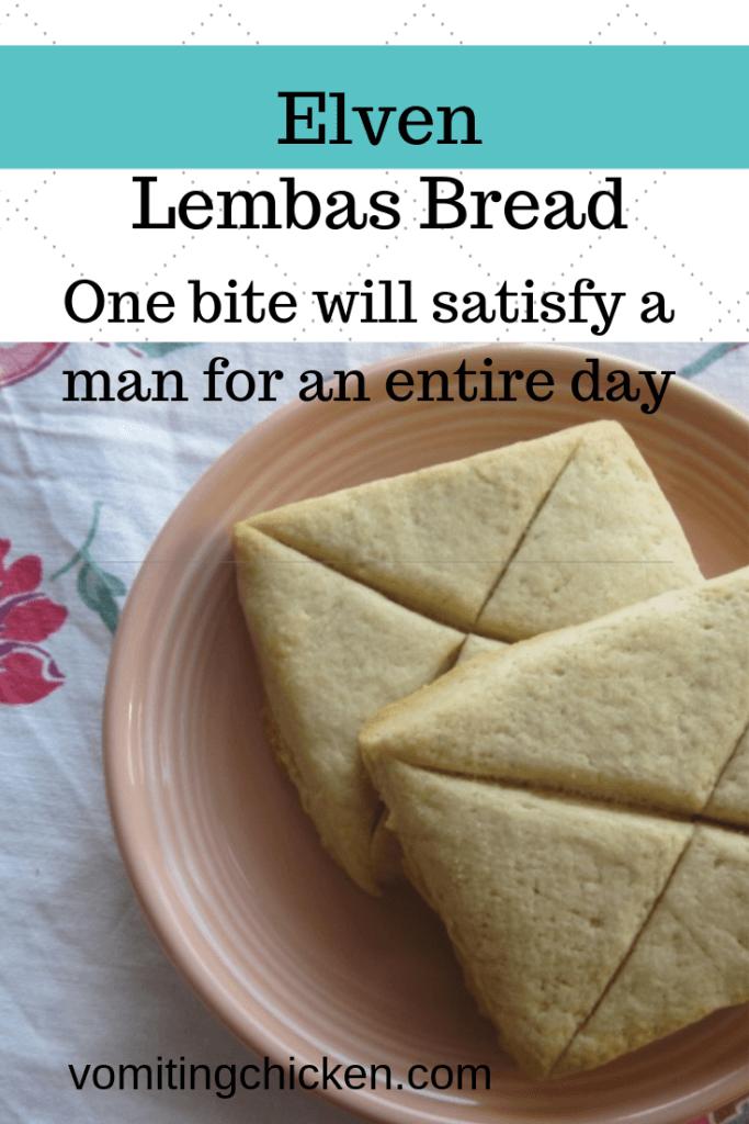 lembas bread: yum