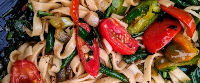 Quick Veggie Stir-Fry Recipe & Back-to-Schoolishness