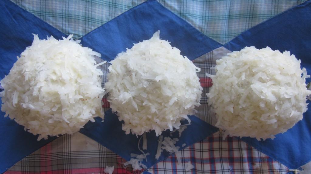 Celebratory Coconut Cupcakes