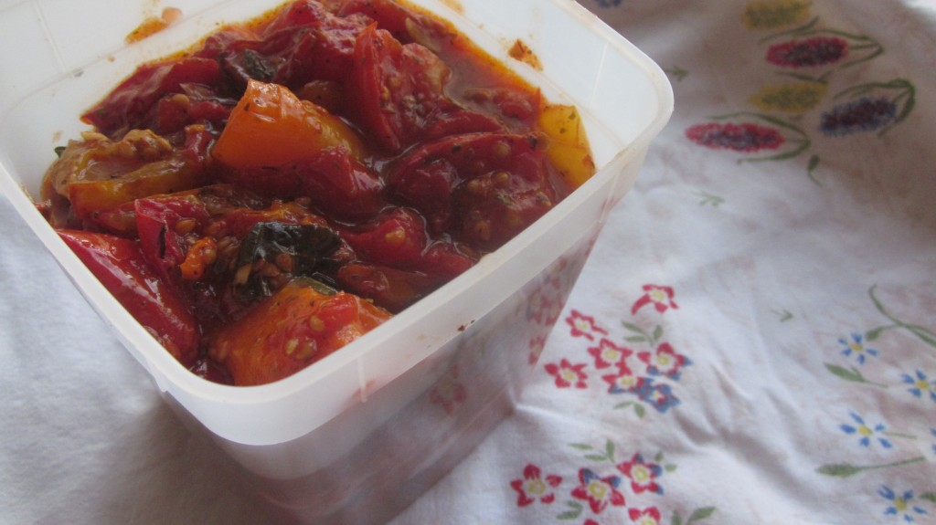 roasted tomato sauce recipe