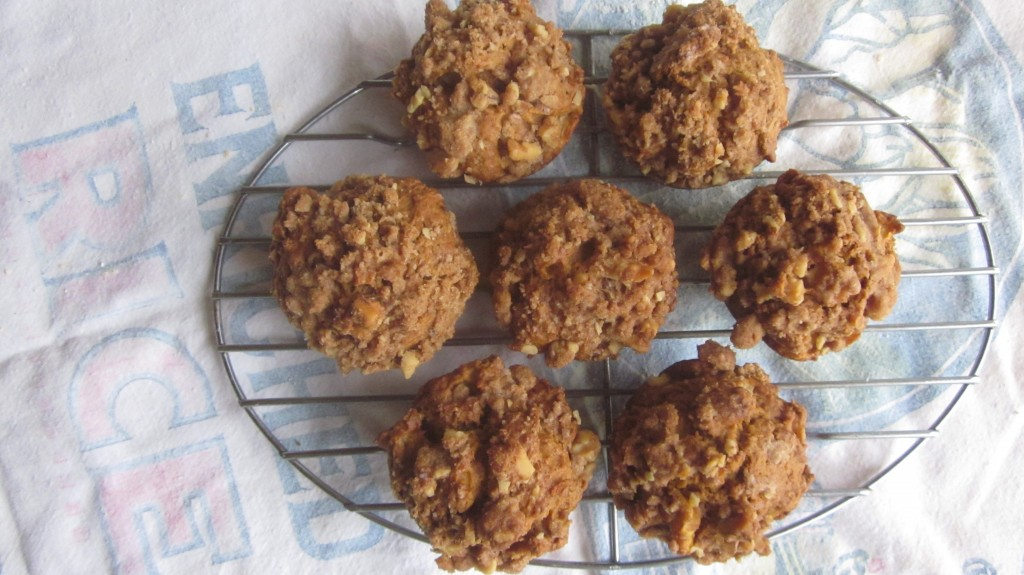 These muffins barely lasted until I could take this photo, just sayin' . . . .