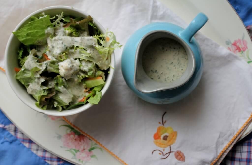 salad dressing creamy caper