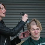Going bald for a great cause, with St. Baldrick's Foundation
