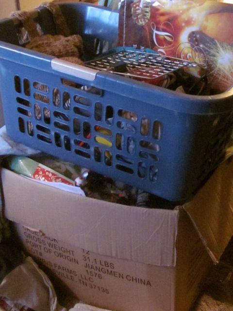 I kinda need that laundry basket back, too . . .