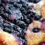 Blueberry Focaccia with Lemon Sparkle Sugar