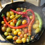 Day of Panic Sauteed Cherry Tomatoes in Butter & Herbs