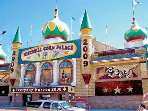 The Corn Palace in Mitchell, South Dakota, is well worth a visit!