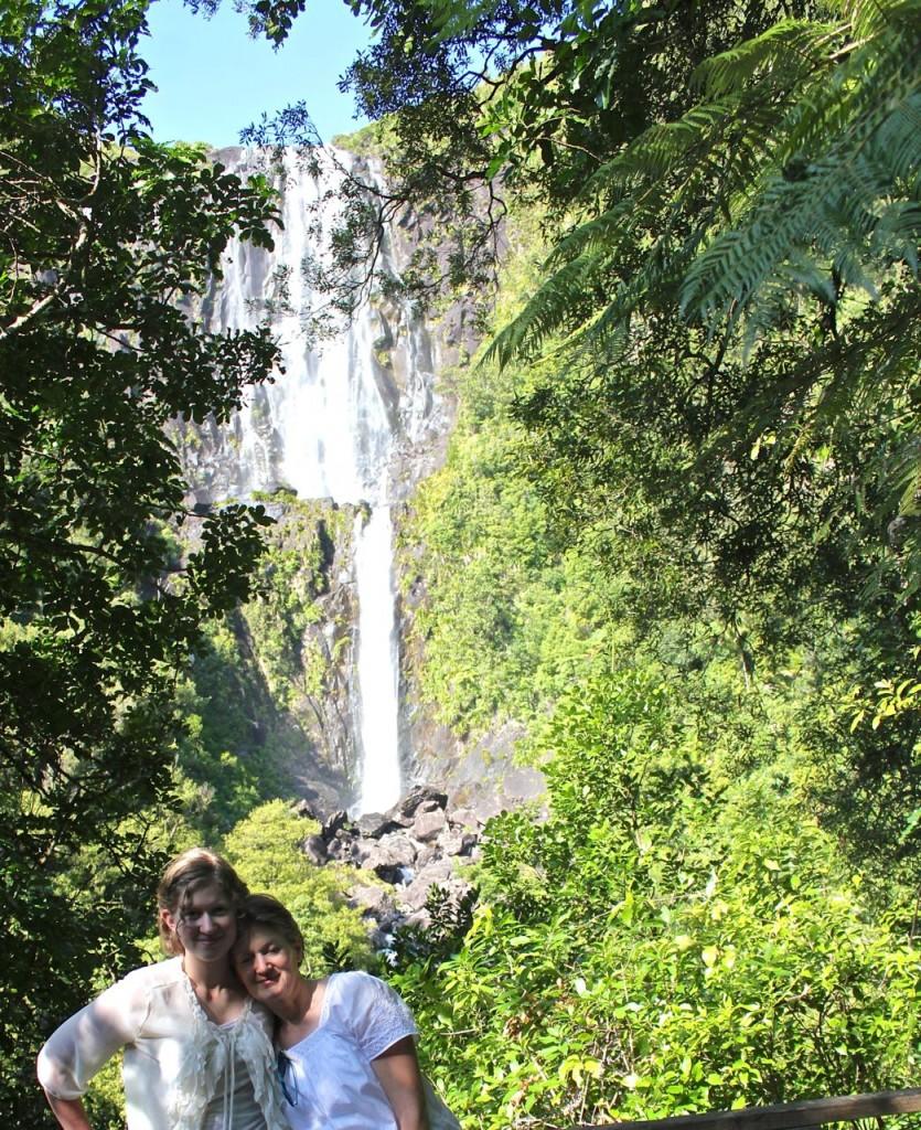 Wairere Falls New Zealand