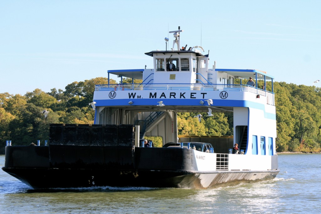 Here's our ferry!