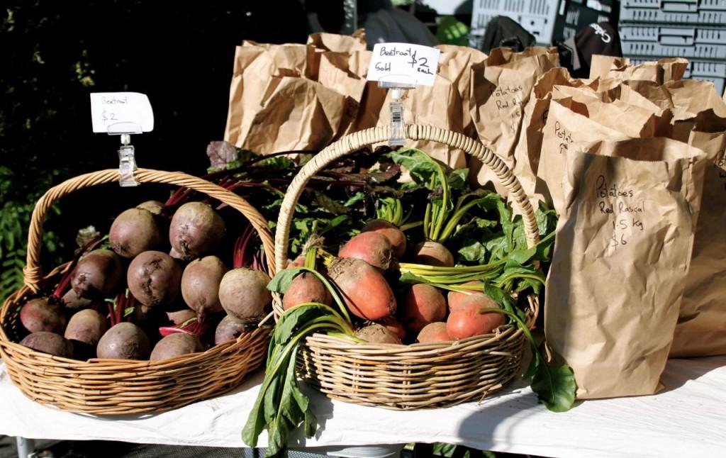 root crops in bags